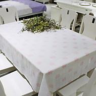 billige Duker-Moderne 100g / m2 Polyester Strik Stretch Kvadrat Duge Blomstret Borddekorasjoner 1 pcs