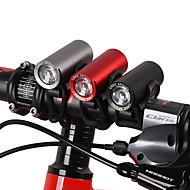 billige Sykkellykter og reflekser-Frontlys til sykkel LED Sykkellykter Sykling Vanntett, Bærbar, Holdbar 120 lm Hvit Camping / Vandring / Grotte Udforskning / Dagligdags Brug / Sykling - WEST BIKING®