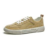 Ανδρικά Παπούτσια άνεσης Χοιρόδερμα Άνοιξη & Χειμώνας Αθλητικά Παπούτσια Μαύρο / Γκρίζο / Κάμελ