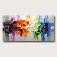 저렴한 -항으로 그린 유화 손으로 그린 - 추상적인 콘템포라리 우아한 내부 프레임 포함
