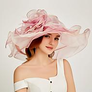 organza Kentucky Derby Hat / Palarioare / Ornamente de Cap cu Niveluri 1 Bucată Party / Seara / Birou/ Ceremonie / Nuntă Diadema