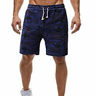 Per uomo Essenziale Pantaloncini Pantaloni - Con stampe Blu