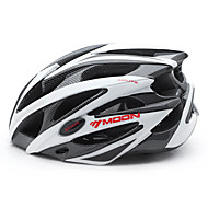 MOON Adults Bike Helmet 25 Vents CE Impact Resistant Ventilation Insect Net EPS PC Sports Mountain Bike / MTB Road Cycling Cycling / Bike - Black / White Men's Women's / Integrally-molded