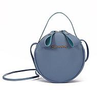 Kadın's Çantalar Suni Deri / Polyester Tote Boncuklama için Günlük / Dışarı Çıkma İlkbahar yaz / Sonbahar Kış YAKUT / Doğal Pembe / Gri