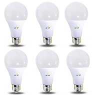 EXUP® 6pcs 12 W 1180 lm B22 / E26 / E27 Lampadine globo LED 28 Perline LED SMD 2835 Bianco caldo / Luce fredda 220-240 V / 110-130 V