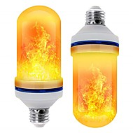 2pcs 5 W LED Mais-Birnen 250 lm E26 / E27 T 99 LED-Perlen SMD 2835 Party Dekorativ Flamme flackert Warmes Weiß 85-265 V / RoHs