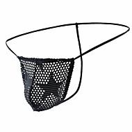 men's briefs underwear / g-string underwear - mesh 1 piece low waist