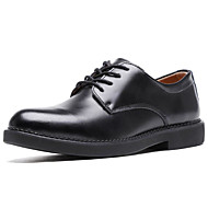Bărbați Pantofi de confort Piele Primăvara & toamnă Oxfords Negru