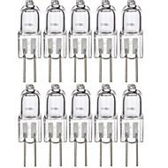 20 W LED-lamper med G-sokkel 120 lm G4 1 LED perler SMD Smuk Varm hvit 12 V, 10pcs