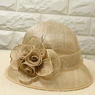 Жен. Праздник Шляпа от солнца Полиэстер,Однотонный Черный Желтый
