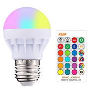 3 W LED Έξυπνες Λάμπες 200-250 lm E26 / E27 1 LED χάντρες SMD 5050 Smart Με ροοστάτη Τηλεχειριζόμενο RGBW 85-265 V, 1pc / RoHs