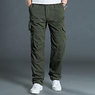 Pánské Šik ven Kalhoty chinos Kalhoty - Jednobarevné Černá