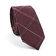 עניבת צווארון - פסים / דפוס / סרוג מסיבה / עבודה / בסיסי בגדי ריקוד גברים