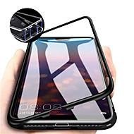 Coque Pour Huawei Huawei P30 / Huawei P30 Pro Magnétique Coque Intégrale Couleur Pleine Dur Verre Trempé pour Huawei P20 / Huawei P20 Pro / Huawei P20 lite