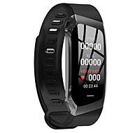 E18 Unisex Smart Armband Android iOS Bluetooth GPS Smart Sportief Waterbestendig Hartslagmeter Stappenteller Gespreksherinnering Activiteitentracker Slaaptracker sedentaire Reminder