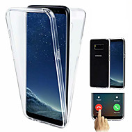 Case For Samsung Galaxy Galaxy S10 / Galaxy S10 Plus Shockproof / Ultra-thin / Transparent Full Body Cases Solid Colored Soft TPU for S9 / S9 Plus / S8 Plus