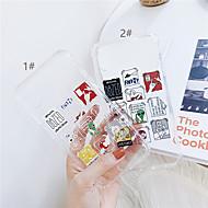 Etui Käyttötarkoitus Apple iPhone XR / iPhone XS Max Läpinäkyvä Takakuori Piirretty Pehmeä TPU varten iPhone XS / iPhone XR / iPhone XS Max