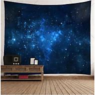 hvězdný noční vzor visí zeď umění tapiserie nástěnná malba vinyl odnímatelný gobelín domácí místnost svatební obtisky obal případ