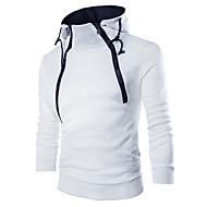 povoljno -Muškarci Ležerne prilike Sportska majica Jednobojni