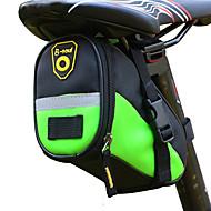 B-SOUL 1 L Fietszadeltas waterdicht draagbaar Duurzaam Fietstas Leder Textiel Binnenwerk Fietstas Fietstas Fietsen Racefiets Mountain Bike Voor buiten