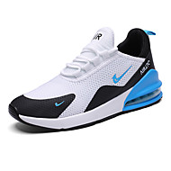 cheap -Men's Comfort Shoes Mesh Spring & Summer / Fall & Winter Athletic Shoes Black and White / Black / Red / Black / Blue / Fashion Boots