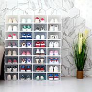 billige -4stk Oppbevaringskasser Plastikker Lagring Smart Hjem