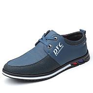 Homme Chaussures de confort Polyuréthane Eté Business Oxfords Jaune / Bleu / De plein air