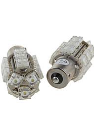 2 x 18 multifunzionali lampadine led - luce freno - fanale posteriore - luce turno (s25-BA15S-18-w)