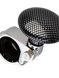 cheap -Steering Wheel Aid - Spinner Knob (Checker Patterned)
