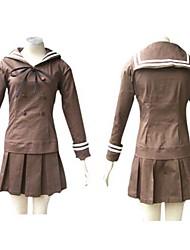 Ispirato da High School di Host Club Haruhi Fujioka Anime Costumi Cosplay Abiti Cosplay Uniformi scolastiche Collage Manica lungaTop