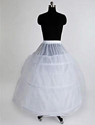 Slips Ball Gown Slip Floor-length 3 Nylon Tulle Netting