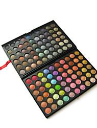 abordables -120 Paleta de Sombras de Ojos Mate / Brillo Paleta de sombra de ojos Polvo GrandeMaquillaje de Fiesta / Maquillaje Smokey / Maquillaje de