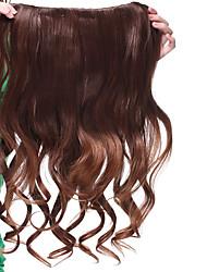 """tanie -Kawałek włosów Curly Klasyczny Włosie synetyczne 22"""" Długie Przedłużanie włosów Codzienny"""