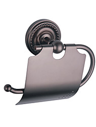cheap -Retro Style Oil Rubbed Bronze Wall Mount Toilet Roll Holder