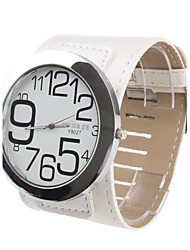 Women's Fashion Watch Quartz Band White
