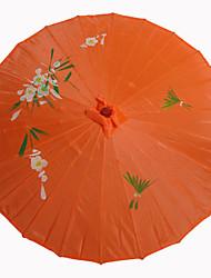 Недорогие -Шелк Вентиляторы и зонтики Пьеса / Установить Зонты Сад Азия Золотой 48 см высота × 82 см диаметр Высота 48 см