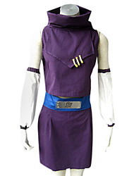 cheap -Inspired by Naruto Ino Yamanaka Anime Cosplay Costumes Cosplay Suits Patchwork Sleeveless Top Skirt Sleeves Belt For Female