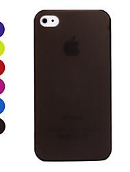 billiga -Matt Ultratunt Skyddskal för iPhone 4/4S
