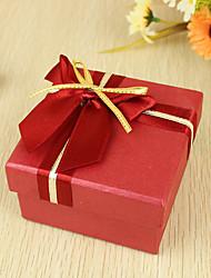 suporte de suporte de papel perolado cubo-perol com fitas favor caixas-6 favores de casamento