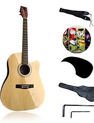 """Недорогие -41 """"acousitc гитара пакет фанеры липы оригинал-лак"""