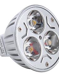 gu5.3 (mr16) led spotlight mr16 3 høj effekt led 270lm varm hvid 3000k dc 12v