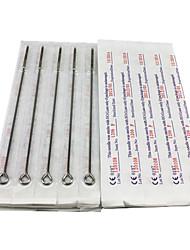 economico -50pcs sterili in acciaio inox aghi per tatuaggio 25 6f 25 7RS