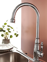 cheap -Kitchen faucet - Traditional Chrome Tall / ­High Arc Deck Mounted