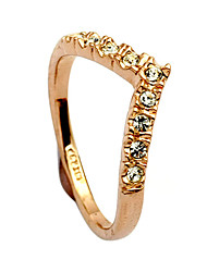 cheap -Women's Statement Ring - Alloy Heart One Size Gold / Silver For Daily
