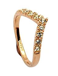 billige -Dame Legering Statement Ring - Hjerte Guld / Sølv Ring Til Daglig
