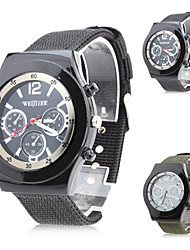 Unisex's Fabric Analog Quartz Wrist Watch (Assorted Colors) Cool Watch Unique Watch