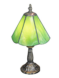 Tiffany Table Light with 1 Light Green