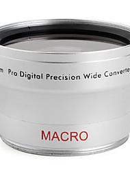 profissional 0.45x 40,5 milímetros de grande ângulo e lente de conversão macro