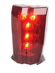 Недорогие -Светодиодная лампа Велосипедные фары Задняя подсветка на велосипед огни безопасности Горные велосипеды Велоспорт Велоспорт Водонепроницаемый Портативные Будильник Осторожно! AAA Батарея / IPX-4