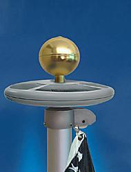 Недорогие -20 светодиоды ДИП светодиоды Белый Водонепроницаемый Солнечная энергия 1шт
